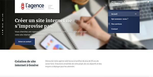 Agence web Genève
